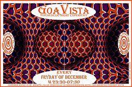 Party Flyer GOAVISTA- ATLANTIS TRIBE CLUB PARTY-EVERY FRIDAY OF DECEMBER! 7 Dec '18, 23:30