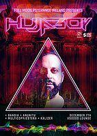 Party Flyer HUJABOY - FULL MOON PSYTRANCE IRELAND 7 Dec '18, 21:00