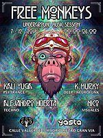 Party Flyer Underground Music Session 7 Dec '18, 23:30