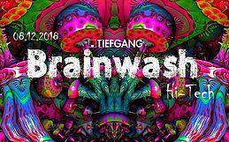 Party Flyer Brainwash 8 Dec '18, 23:00