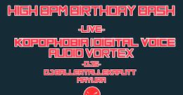 Party Flyer HiGH BPM BiRTHDAY BASH 12 Jan '19, 22:00