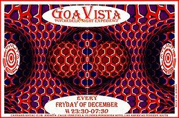 Party Flyer GOAVISTA- ATLANTIS TRIBE CLUB PARTY-EVERY FRIDAY OF DECEMBER! 14 Dec '18, 22:00