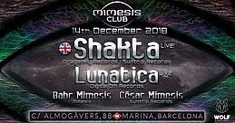 Party Flyer Mimesis CLUB 14 Dec '18, 23:30