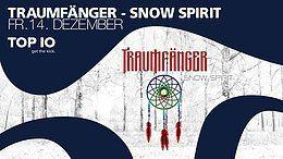 Party Flyer Traumfänger - snow spirit // das Goa-Event 14 Dec '18, 21:00
