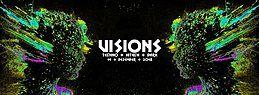 Party Flyer Visions / Techno & Hitech, Darkpsy |5€ bis 0 Uhr 14 Dec '18, 23:00