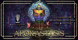 Party Flyer APOKASTASIS 15 Dec '18, 22:00