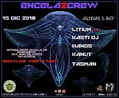Party Flyer ENCELA2CREW PRESENTS: ANUNNAKIS IS BACK 15 Dec '18, 23:30