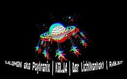 Party Flyer Gravity Of Universe 15 Dec '18, 22:00