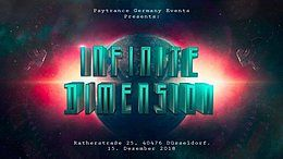 Party Flyer INFINITE DIMENSION w/Rematic Live (DÜSSELDORF) 15 Dec '18, 22:00