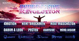 Party Flyer Progressive Revolution 15 Dec '18, 22:00