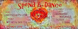 Party Flyer Spend & Dance 15 Dec '18, 22:00