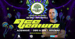Party Flyer TREEBAL: ACE VENTURA • ACIDWAVE • OBRI & ZEN • OOGWAY at SPACEHALL 15 Dec '18, 23:00