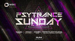 Party Flyer PsyTrance ॐ Sunday at GLOW 16 Dec '18, 21:30