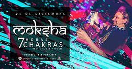 Party Flyer Dancing Budhas features Dj Moksha 7 Chakras 7hs 21 Dec '18, 23:30