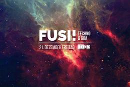 Party Flyer Fusi ॐ Techno & Goa: the last spiritual adventure in 2018 21 Dec '18, 23:00