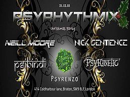 Party Flyer Psyrhythmix Christmas Party 21 Dec '18, 23:00