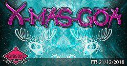 Party Flyer ॐ X-mas-Goa ॐ 21 Dec '18, 22:00