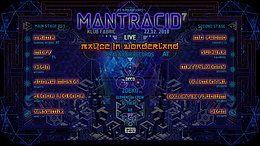 Party Flyer MANTRACID 7 22 Dec '18, 22:00