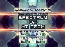Party Flyer Spectrum of HI TECH 22 Dec '18, 22:00