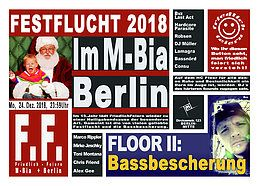 Party Flyer FF präs. Festflucht 2018 24 Dec '18, 23:30