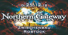 Party Flyer Northern Gateway - Xerox & Off Limits LIVE & xtra Darkfloor 25 Dec '18, 23:00