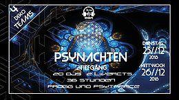 Party Flyer PsyNachten 25 Dec '18, 23:00