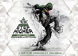 Party Flyer Step higher 27 Dec '18, 23:00