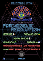 Party Flyer Psynonymous - Psychedelic Resolution 28 Dec '18, 21:00