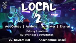 Party Flyer LOCAL II 29 Dec '18, 23:00
