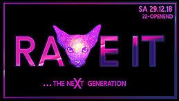 Party Flyer Rave It - The Next Generation 29 Dec '18, 22:00