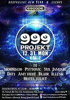 Party Flyer 999PROJEKT NEW YEARS EVE 31 Dec '18, 22:00