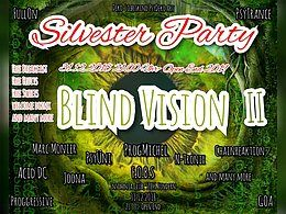 Party Flyer Blind Vision Silvester Party 31 Dec '18, 21:00