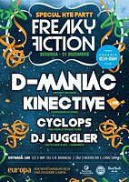 Party Flyer FREAKY FICTION - SPECIAL NYE PARTY 31 Dec '18, 23:30
