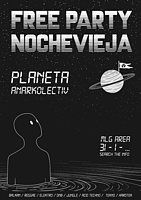Party Flyer Nochevieha AnarKolectiV! 31 Dec '18, 23:30