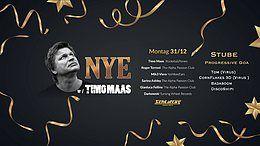 Party Flyer NYE Mit Timo Maas und Progi floor 31 Dec '18, 22:00