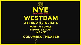 Party Flyer NYE - the risky sets / Westbam & Alfred Heinrichs 31 Dec '18, 22:00