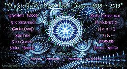 Party Flyer Psi-Box Psychedelic New Year 2019 31 Dec '18, 22:00
