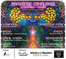 Party Flyer ॐ Psychedelic Confluence ॐ 31 Dec '18, 19:00