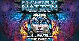 Party Flyer PSYCHEDELIC NATION - Silvester Spezial 2018 31 Dec '18, 18:00