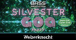 Party Flyer Silvester Goa Party + Afterhour 31 Dec '18, 22:00