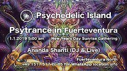 Party Flyer Psychedelic Island 1 Jan '19, 05:00