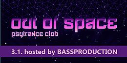 Party Flyer OUT of SPACE Psytrance Club 3 Jan '19, 22:00