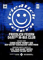 Party Flyer Friedlich Feiern 4 Jan '19, 23:30