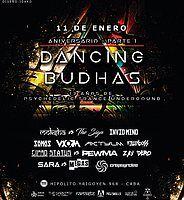Party Flyer Dancing Budhas 13th Anniversary 11 Jan '19, 23:30