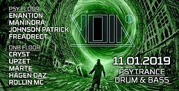 Party Flyer Enter the Void 11 Jan '19, 23:00