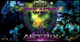 Party Flyer Psybox - Deep Jungle Walk - with Astrix *live 11 Jan '19, 22:00