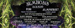 Party Flyer Symbiosis /w Jumpstreet&Fobi by Mouju&Hyprid Rec 11 Jan '19, 22:00