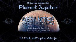 Party Flyer Universe presents: PLANET JUPITER 11 Jan '19, 22:00
