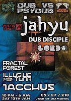 Party Flyer Dub V Psy Dub w/ JahYu and Iacchus 12 Jan '19, 22:00
