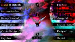 Party Flyer Psy & Techno Free Party at Kulturhaus Kili 12 Jan '19, 22:00